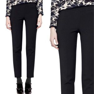• Tory Burch • Emily Wool Blend Pants Black